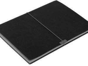 Стандартный блокнот ImageC с оживающими стикерами для заметок на полях, черный