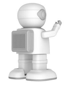 робот колонка