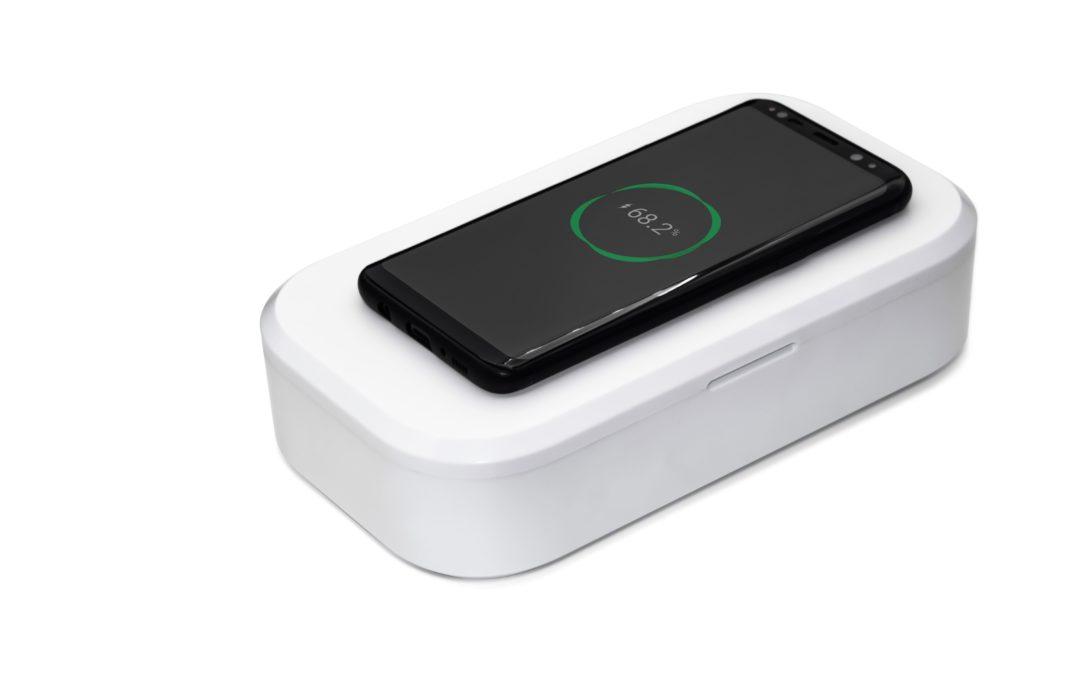 В продажу поступил стерилизатор-ароматизатор ImageC для мобильных телефонов