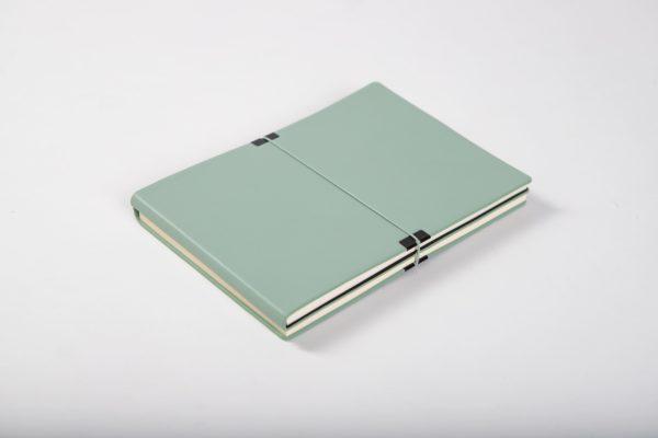 light green notepad